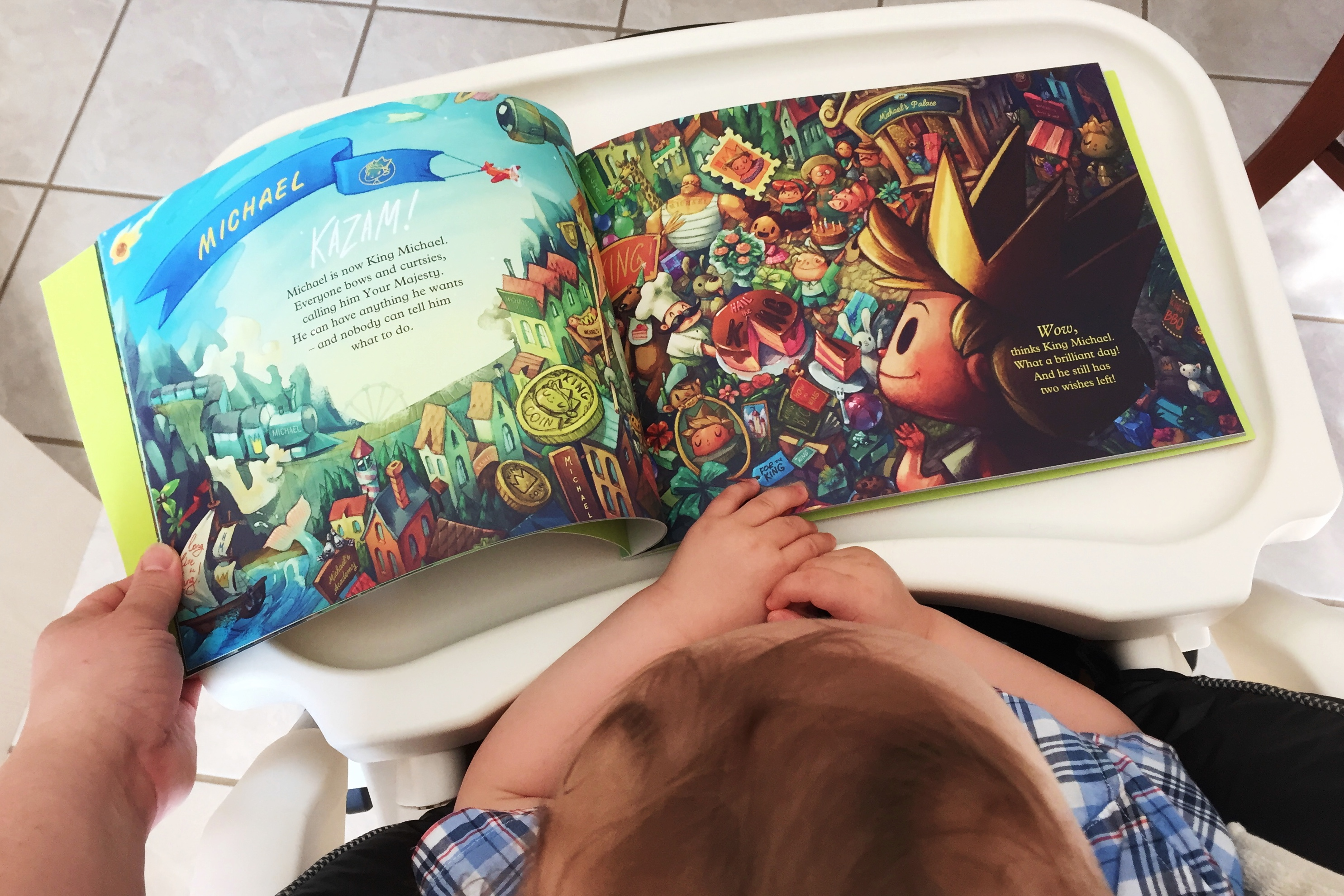 Personalized Story Book