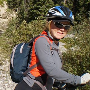 Brenda Patterson cycling