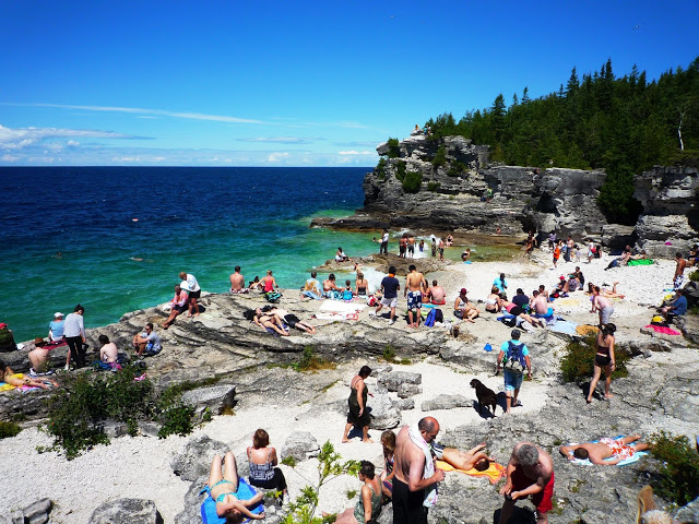 Bruce Peninsula National Park Grotto Tobermory Ontario - Visiting Tobermory: The Grotto and Cyprus Lake Trail