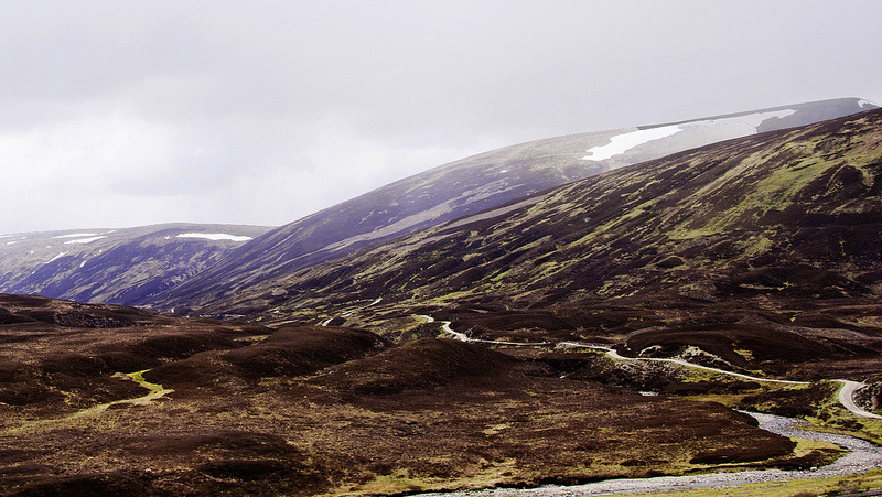 Cairngorm Mountains - Honeymoon in the UK: Day 6 - Bus Tour From Edinburgh to Loch Ness