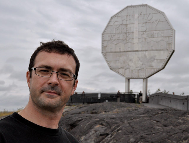 Frank Big Nickel sm - A Place of Learning: Visiting Sudbury, Ontario