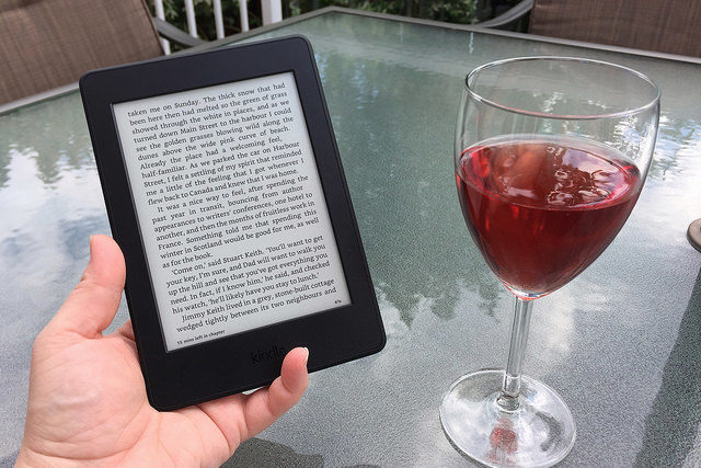 Kindle Paperwhite is the best e-reader for the outdoors