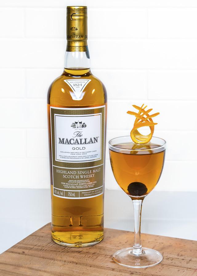 Macallan Rob Burns winter cocktails