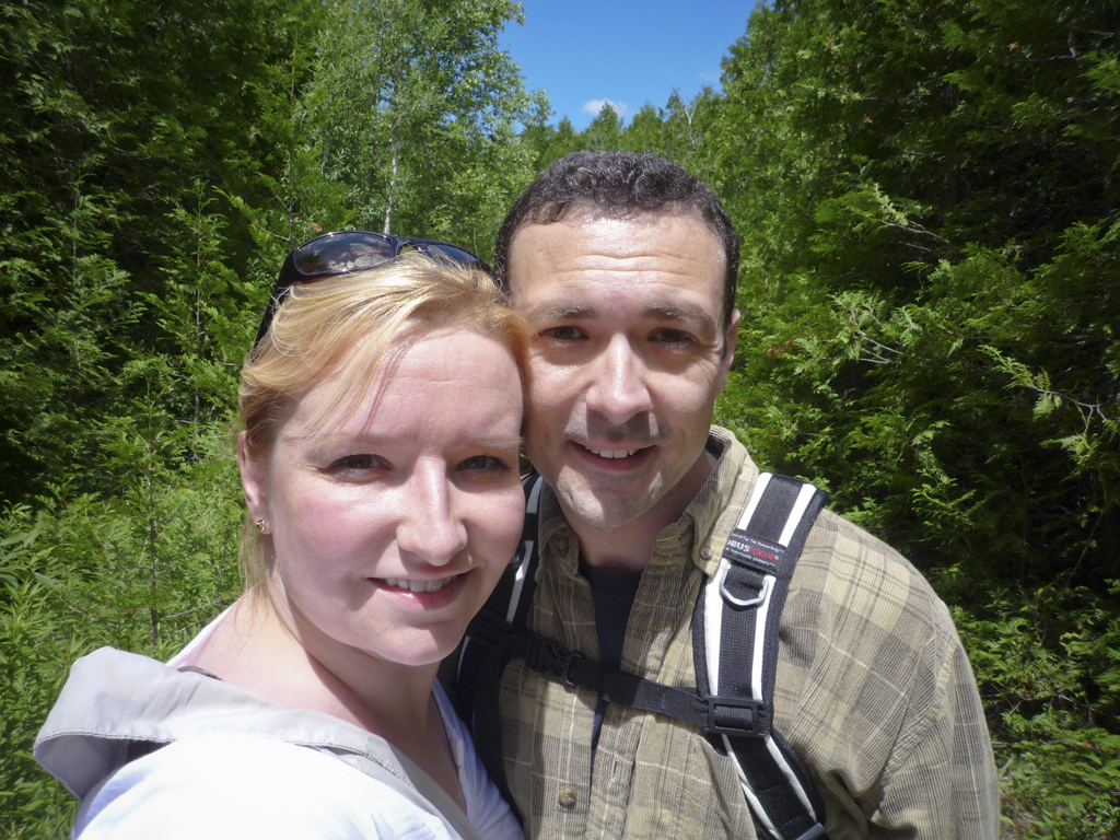 Hiking Trails at Starkey Hill near Guelph, Ontario