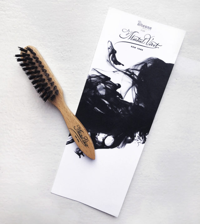 LOVE IT Holiday Gifts for Him Suburban Tourist Martial Vivot Beard Brush