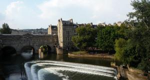 Putleney Bridge in Bath