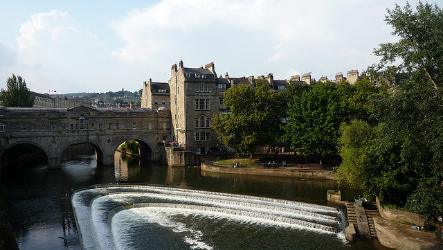 Putleney Bridge in Bath