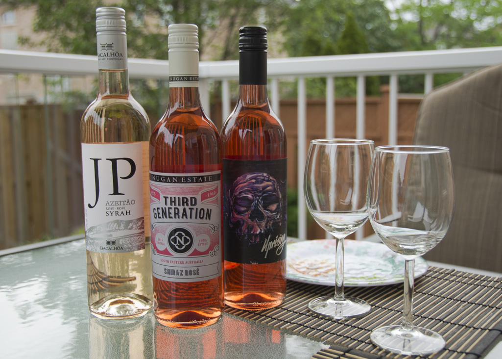 Rosé and Blush Wines