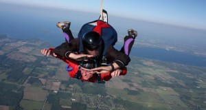 Skydiving in Cookstown, Ontario