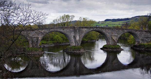 Travel Bucket List - Stirling Bridge in Scotland