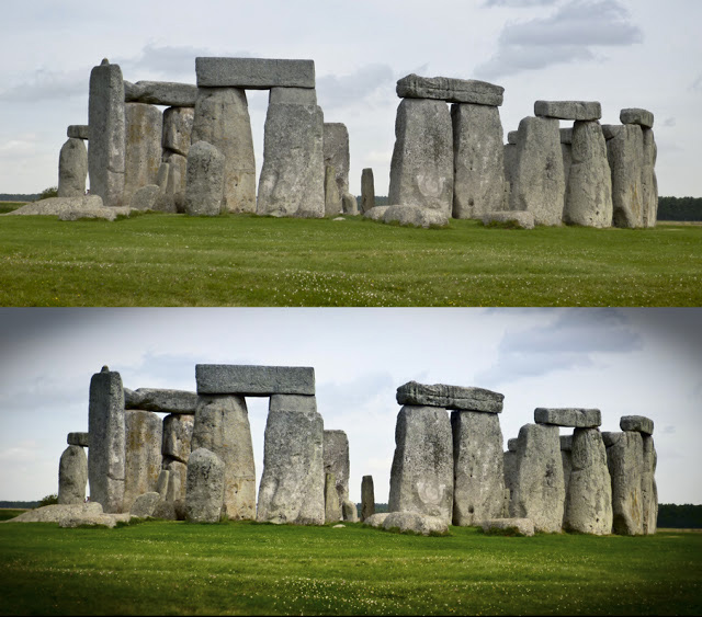 Stonehenge: how to take quick photo snaps and make them look better.