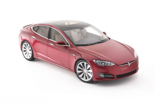 Diecast 1:18 Scale Model S P100D Tesla Holiday Gifts for Him 2017