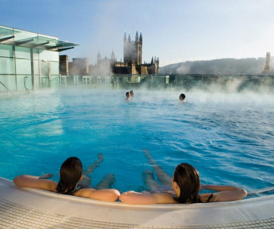 Thermae Bath Spa during the day