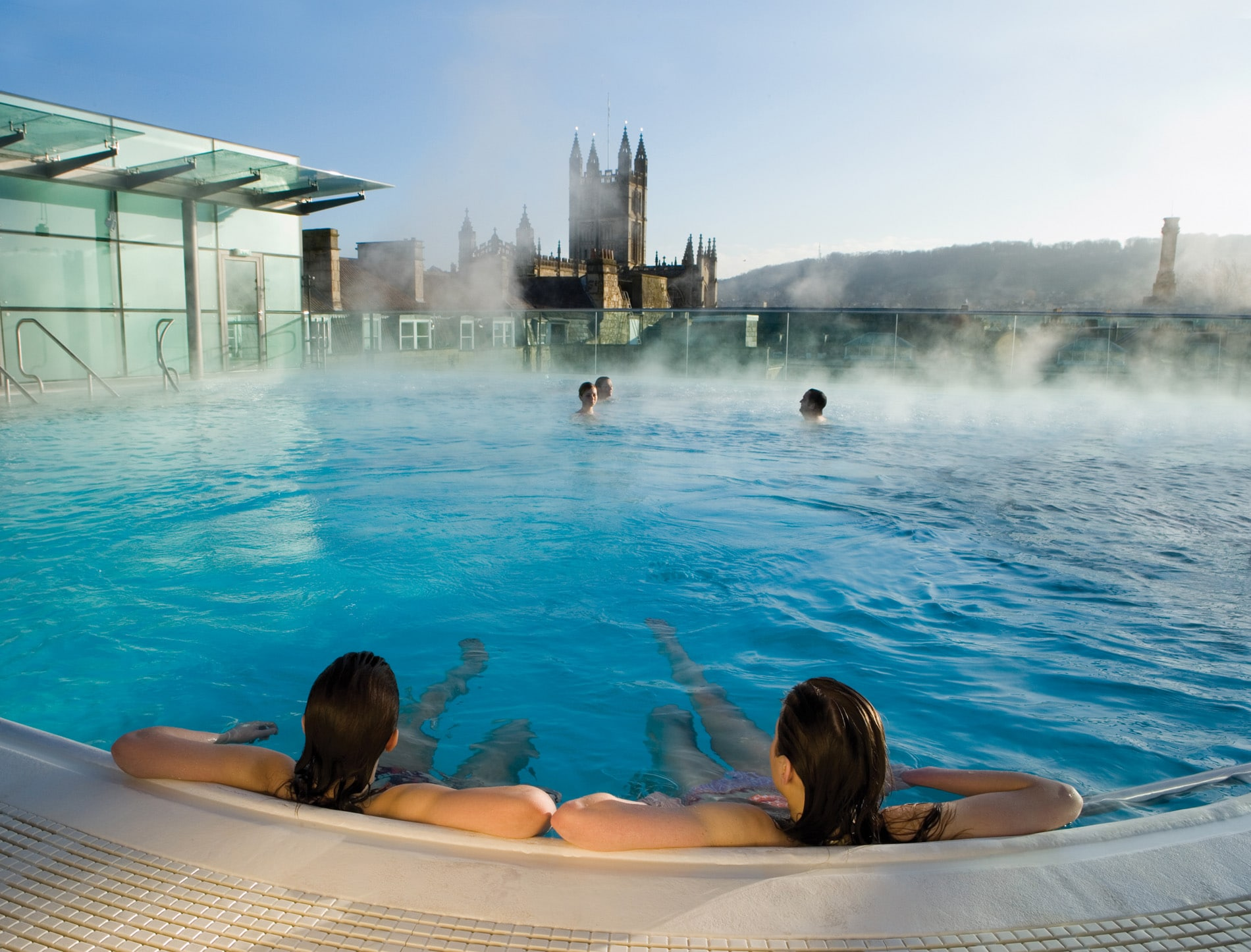 Doing It Like The Romans Did: Bathing At The Thermae Bath Spa ...