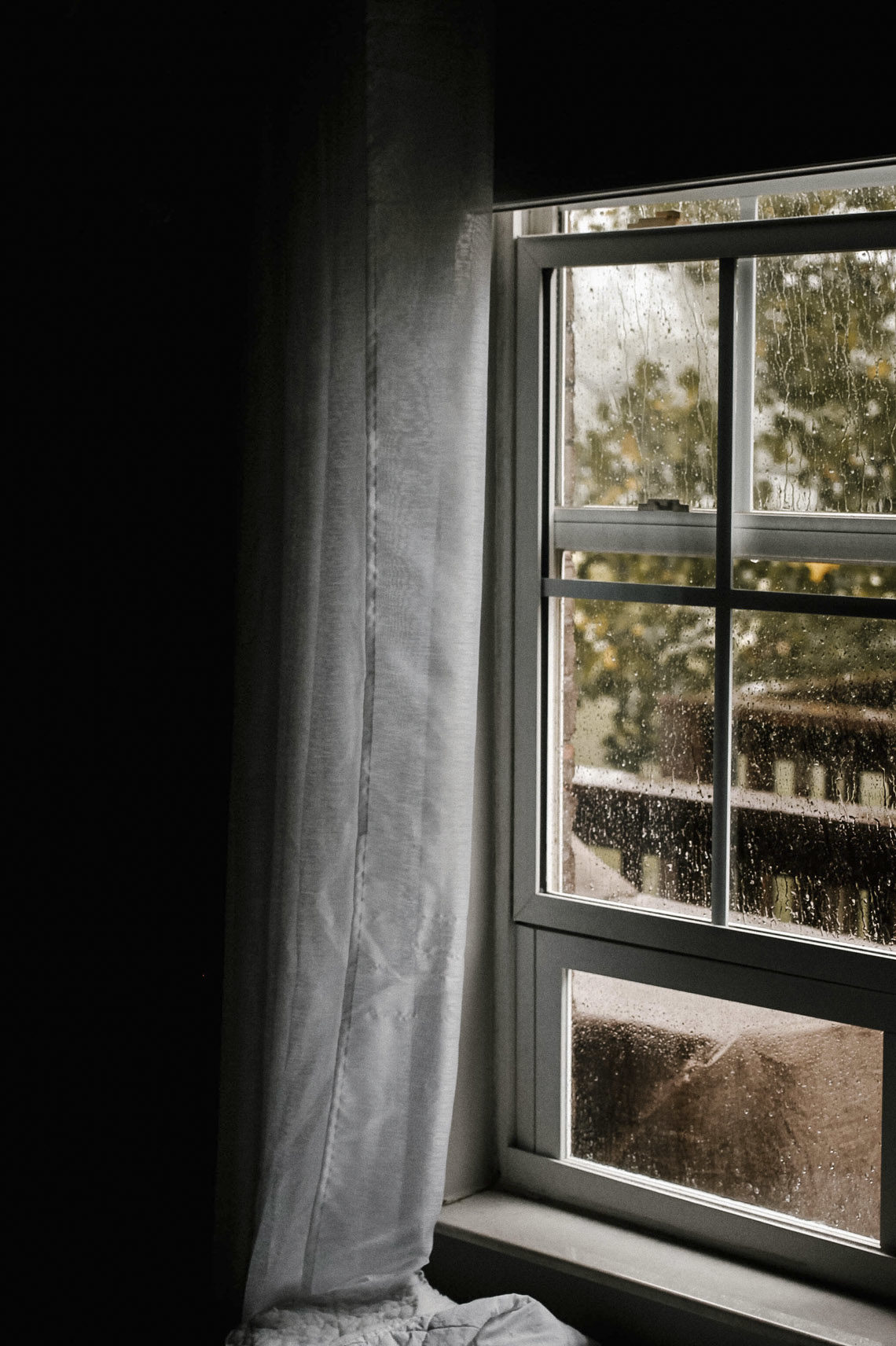 Rain on a window - things to do on a rainy day