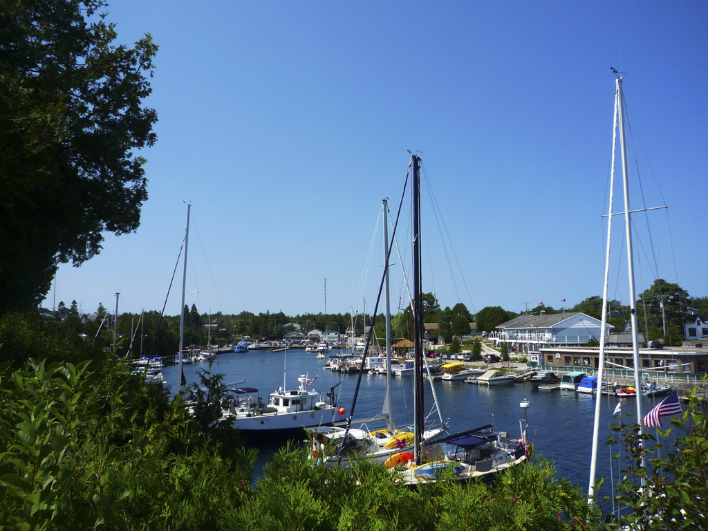 Day trip to Tobermory - the marina