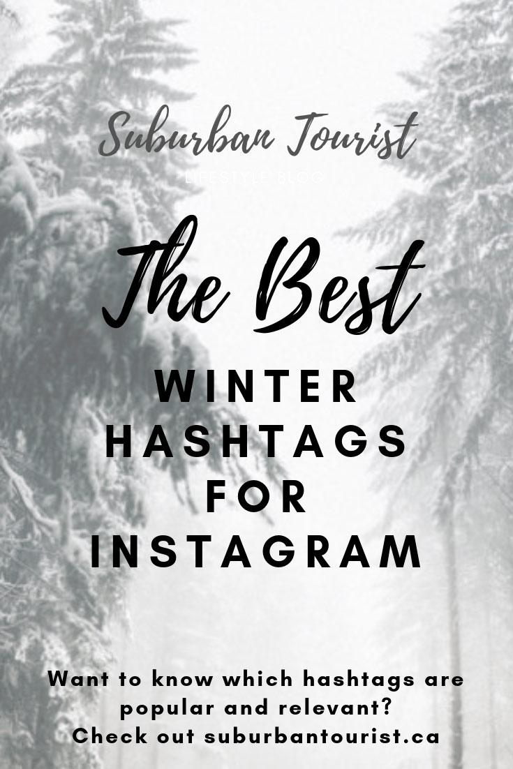 Winter Hashtags