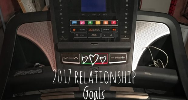 New Year's Resolutions Progress Report - Treadmill Working out